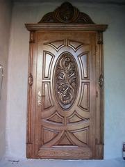 Изготавливаем двери из массива ясеня и дуба по индивидуальным эскизам - foto 1